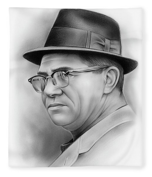 Vince Lombardi Fleece Blanket