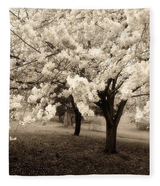 Waiting For Sunday - Holmdel Park Fleece Blanket