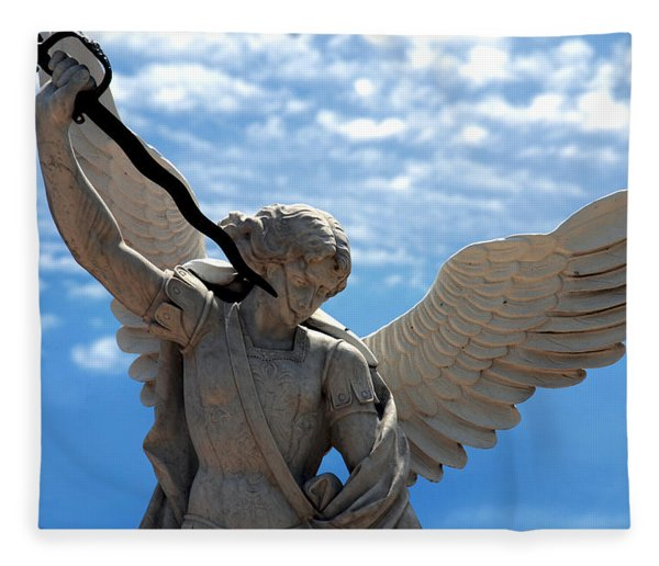 Warrior Angel Fleece Blanket