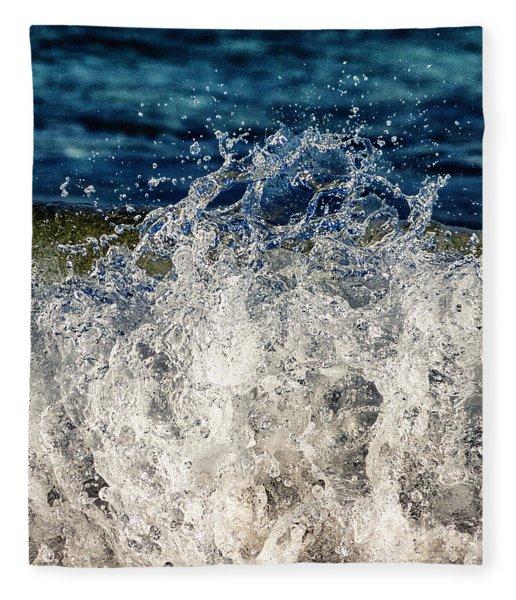 Wave4 Fleece Blanket