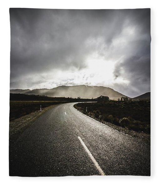 Way To Strathgordon Fleece Blanket