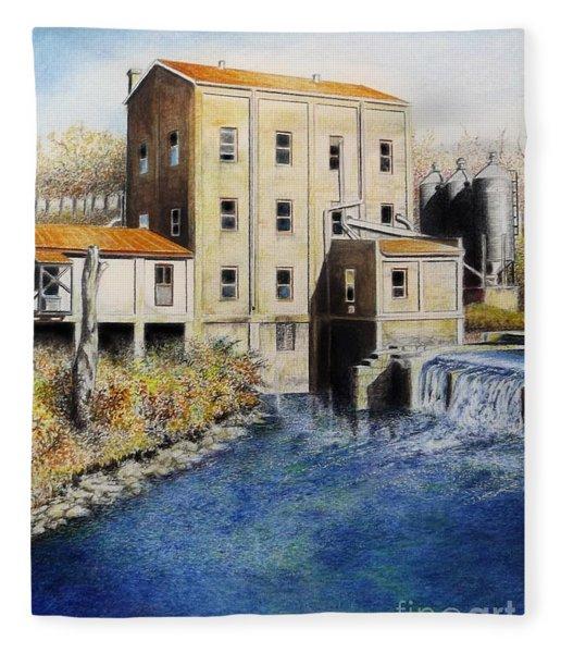 Weisenberger Mill Fleece Blanket