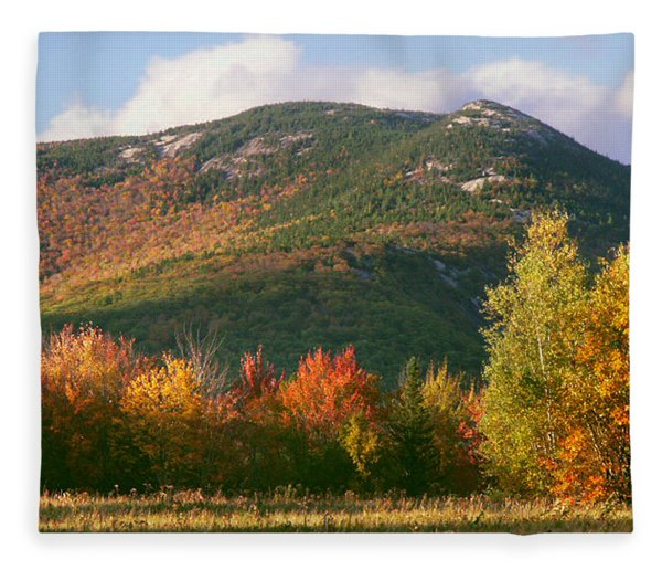 Welch And Dickey Mountains Fleece Blanket