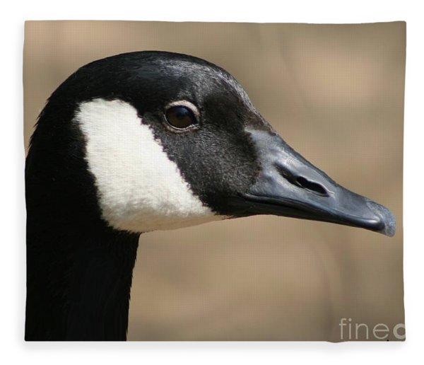 Canadian Goose Fleece Blanket