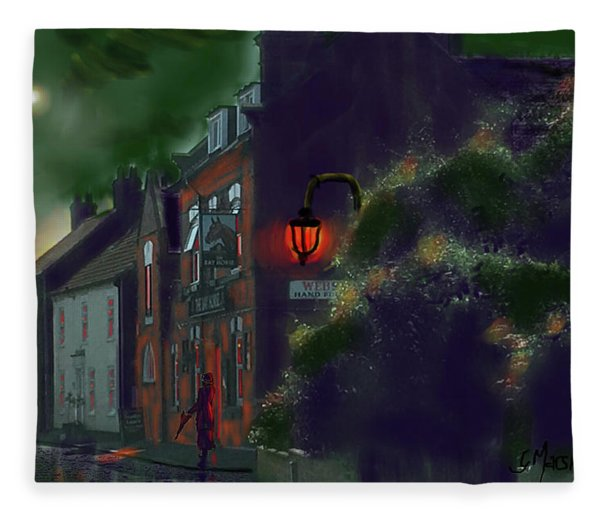 What If Grimshaw Came To Kilham Fleece Blanket