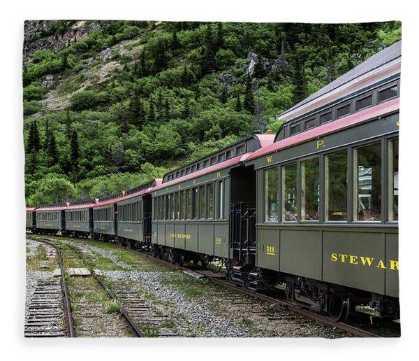 White Pass And Yukon Railway Fleece Blanket