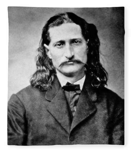 Wild Bill Hickok - American Gunfighter Legend Fleece Blanket