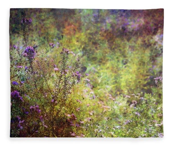 Wildflower Garden Impression 4464 Idp_2 Fleece Blanket