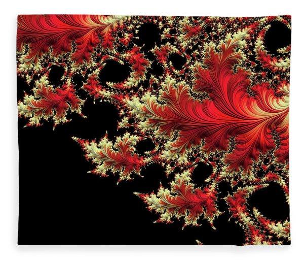 Fleece Blanket featuring the digital art Windswept by Susan Maxwell Schmidt