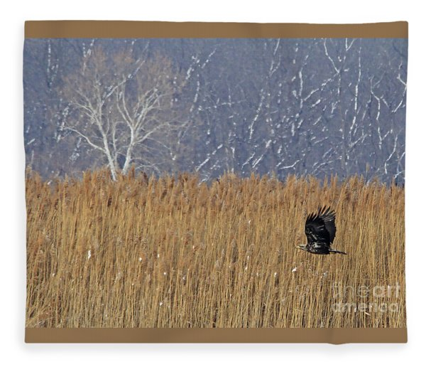 Winter Solace Fleece Blanket