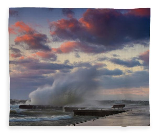 Winters Fury Fleece Blanket