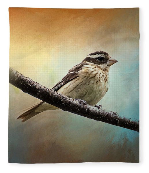 Wisconsin Songbird Fleece Blanket