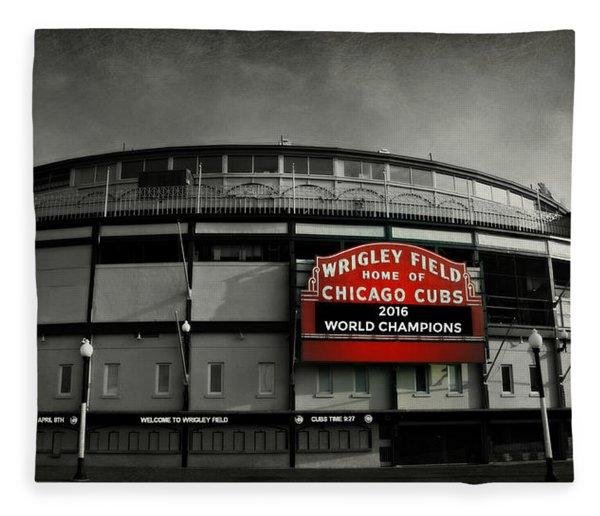 Wrigley Field Fleece Blanket