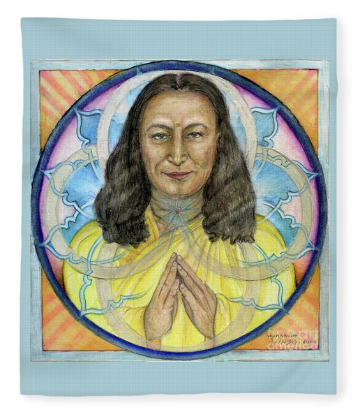 Yogananda Fleece Blanket