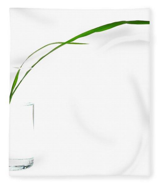 Zen Grass Fleece Blanket