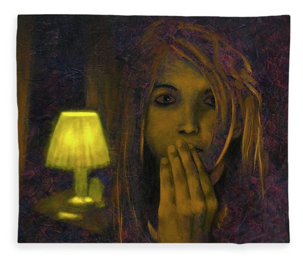 And Then The Phone Rang Fleece Blanket