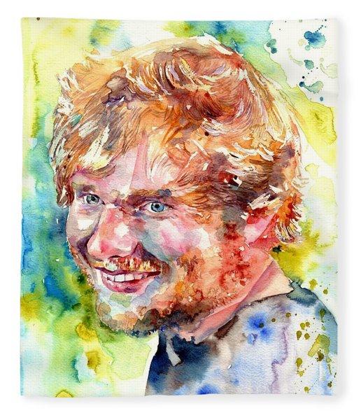 Ed Sheeran Fleece Blanket