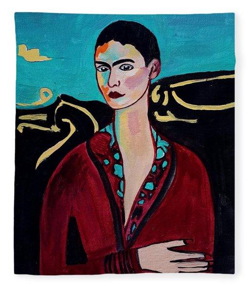 Frida Kahlo. Fleece Blanket