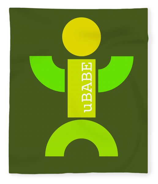 Green Style Fleece Blanket