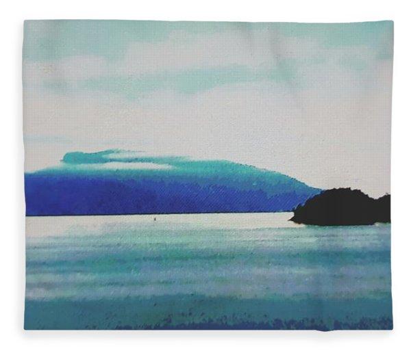 Gulf Islands Fleece Blanket