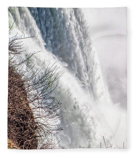 The Mighty Niagara Falls Fleece Blanket