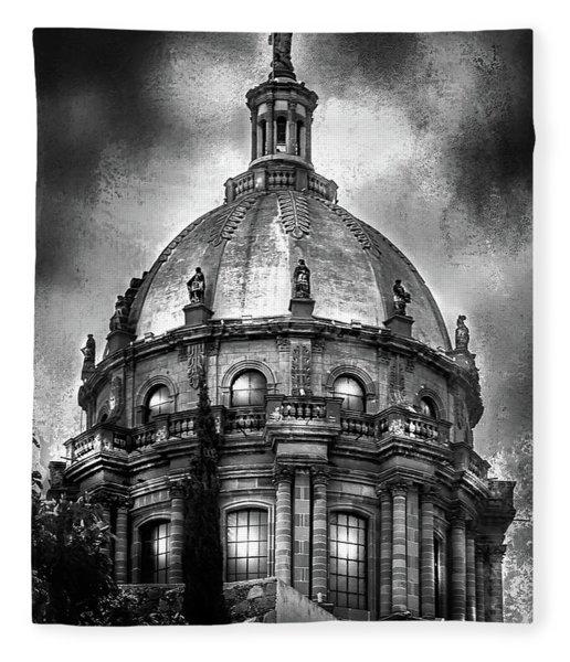 The Nun's Church  Fleece Blanket
