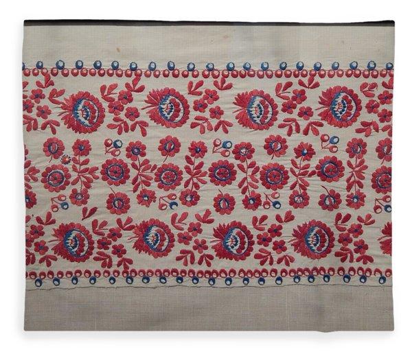 Vyshyvanka Wreath Of The National Costume Retro Fleece Blanket