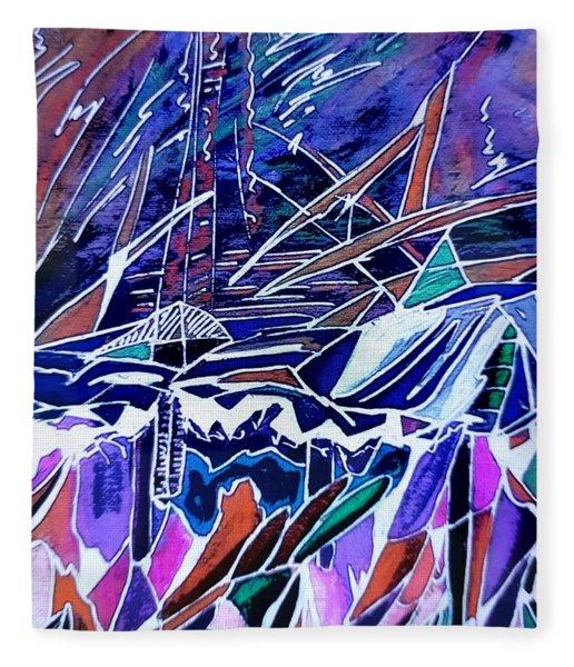 Windy Sail Fleece Blanket