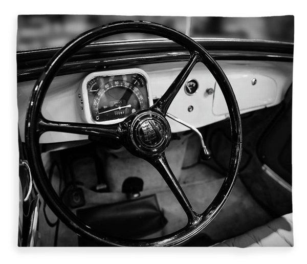 1936 Citroen Roadster Fleece Blanket