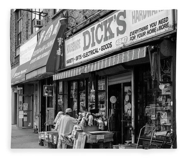 Dick's Hardware  Fleece Blanket