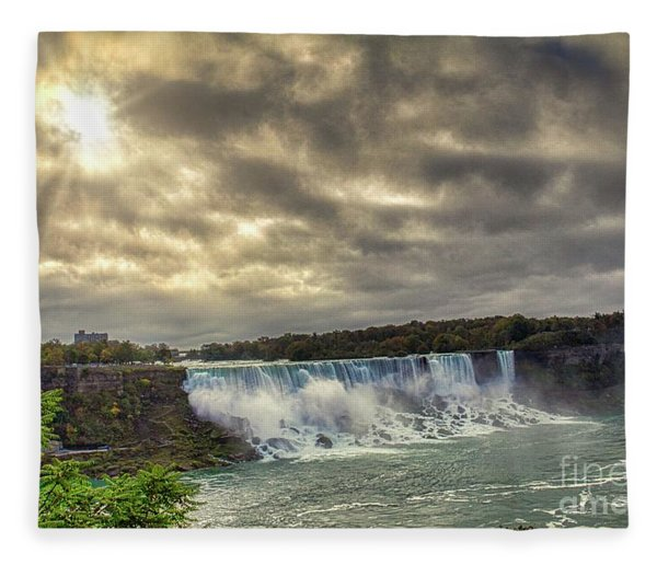 The American Falls Fleece Blanket