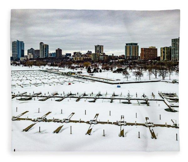 Frozen Marina Fleece Blanket