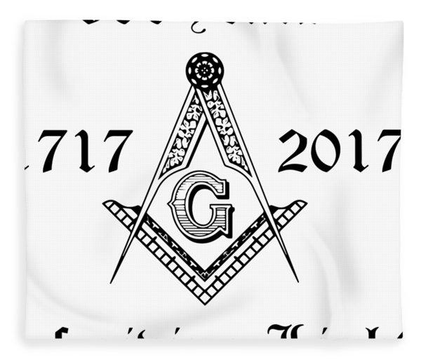 300 Years 1717 2017 Of Gibing Light Illuminati Patriotic Fleece Blanket