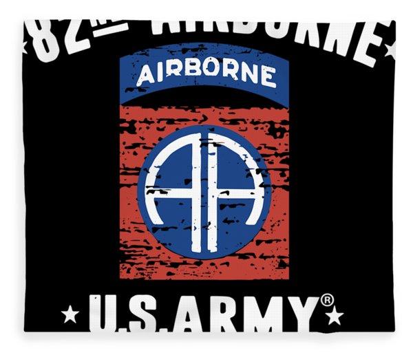 82nd Airborne Division Classic Veteran Fleece Blanket