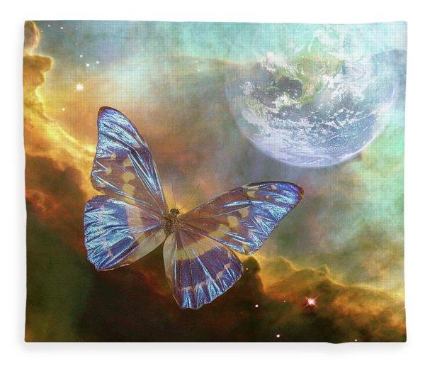A Stellar Adventure Fleece Blanket