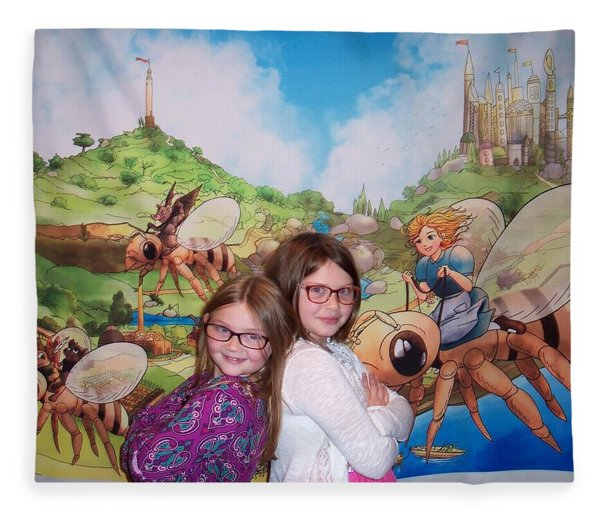 Addy, Rylie, And Tammy Fleece Blanket