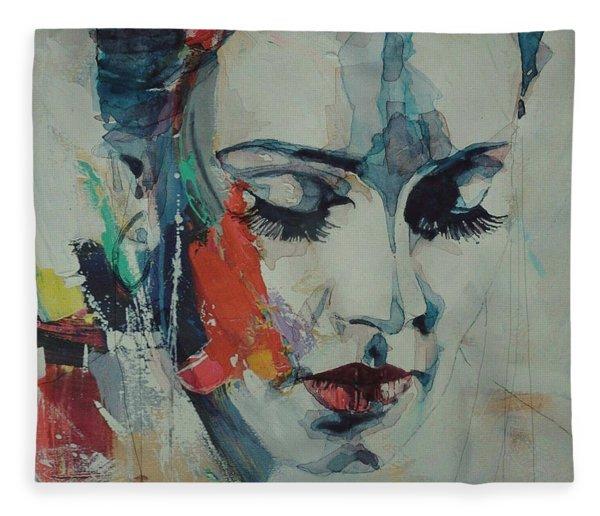 Adele - Make You Feel My Love  Fleece Blanket