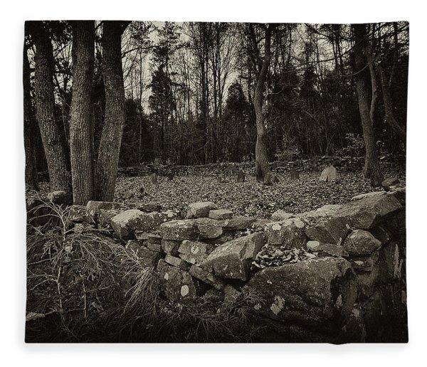Alpine Benders Cemetery Fleece Blanket