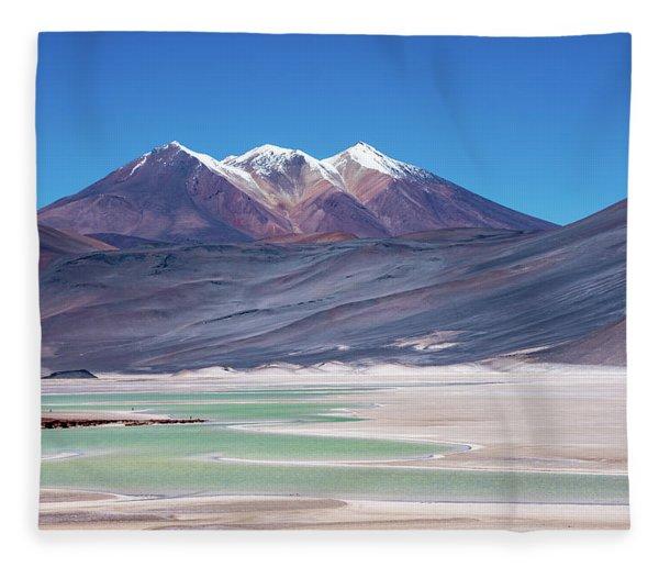 Altiplano View Fleece Blanket