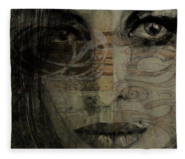 Amy Winehouse - Back To Black Fleece Blanket
