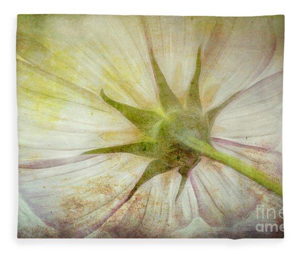 Ancient Flower Fleece Blanket