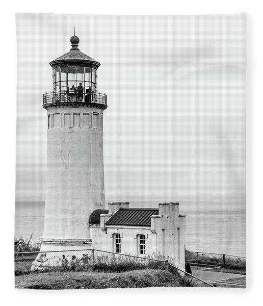 Another Lighthouse Fleece Blanket