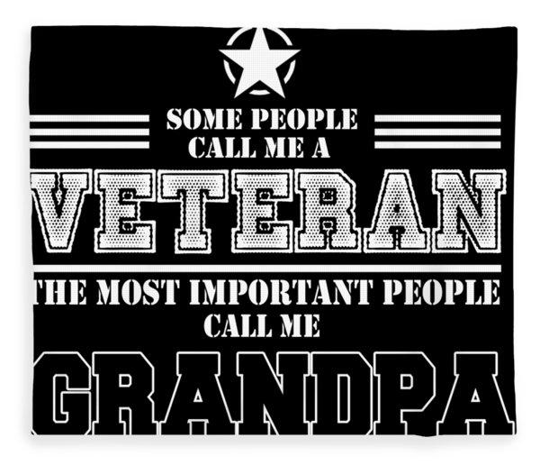 Army Veteran Army Vet Army Grandpa Army Military Veteran Military Army Dad Army Mom Army Gifts Veter Fleece Blanket