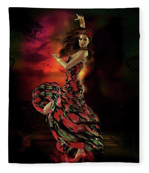 Carmen Fleece Blanket