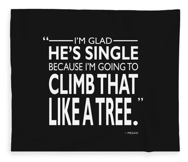 Like A Tree Fleece Blanket