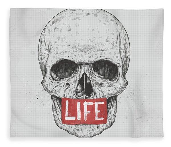 Life Fleece Blanket