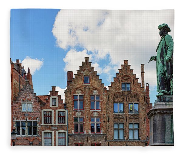 As Eyck Can Fleece Blanket