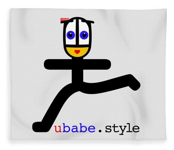 Babe Runner Fleece Blanket