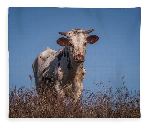 Baby In The Bush Fleece Blanket