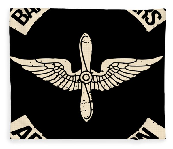 Band Of Brothers Army Aviation Patriotic Fleece Blanket